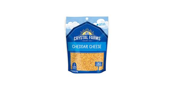 Crystal Farm Shredded Cheese - Cheddar, 8 oz. from Kwik Trip - Eau Claire Water St in Eau Claire, WI