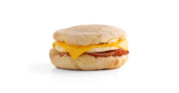 English Muffin Breakfast Sandwiches: Egg White Muffin from Kwik Trip - Kenosha 120th Ave in Pleasant Prairie, WI