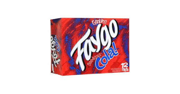 Faygo Soda Products, 12 Pack from Kwik Star - Waterloo Broadway St in Waterloo, IA