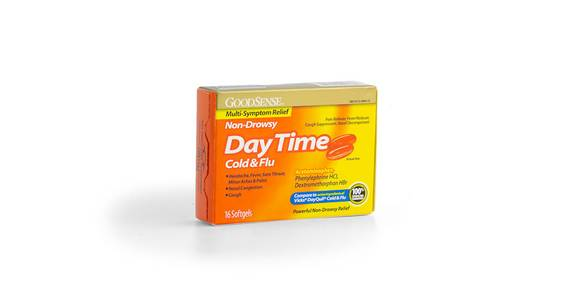 Goodsense Daytime Cold Flu, 16 ct. from Kwik Trip - Madison Downtown in Madison, WI