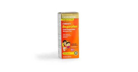 Goodsense Ibuprofen Children Liquid, 4 oz. from Kwik Trip - Wausau North 6th St in Wausau, WI