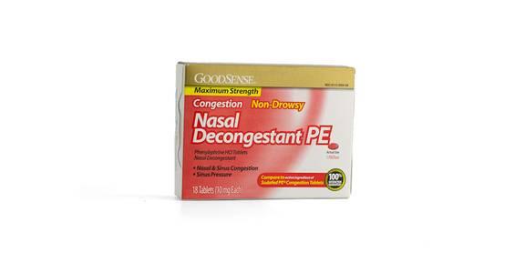Goodsense Nasal Decongestant, 18 ct. from Kwik Trip - Madison Downtown in Madison, WI