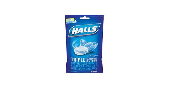 Halls Cough Drops, Bag from Kwik Trip - Wausau North 6th St in Wausau, WI