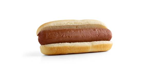 Hot Dogs & Brats: Large Hot Dog from Kwik Star - Waterloo Broadway St in Waterloo, IA