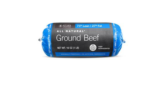 Kitchen Cravings 73% Ground Beef, 1 lb. from Kwik Star - Waterloo Broadway St in Waterloo, IA