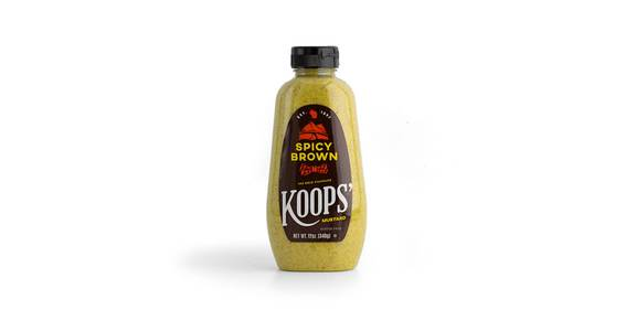 Koops' Spicy Brown Mustard, 12 oz. from Kwik Star - Waterloo Broadway St in Waterloo, IA