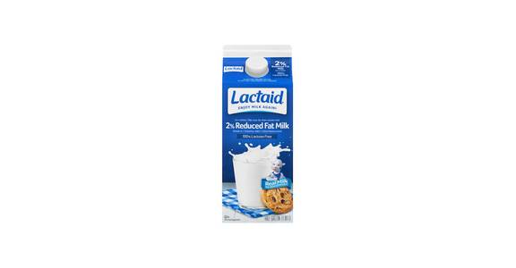 Lactaid Reduced Fat Milk, 64 oz. from Kwik Star - Waterloo Broadway St in Waterloo, IA