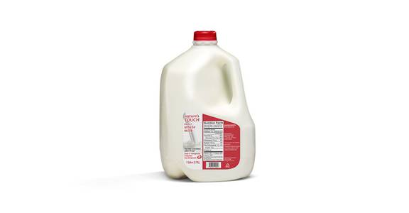 Nature's Touch Gallon Milk - Whole from Kwik Star - Waterloo Broadway St in Waterloo, IA