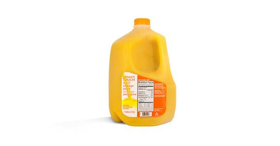 Nature's Touch Orange Juice, Gallon from Kwik Star - Waterloo Broadway St in Waterloo, IA