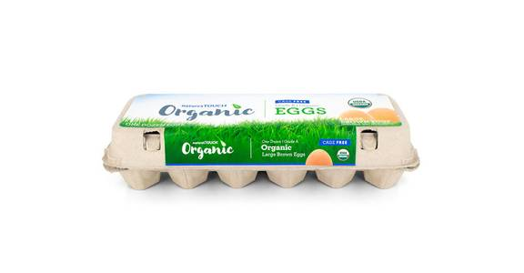 Nature's Touch Organic Eggs, Dozen from Kwik Star - Waterloo Broadway St in Waterloo, IA
