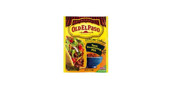 Old El Paso Taco Seasoning from Kwik Trip - Kenosha 120th Ave in Pleasant Prairie, WI