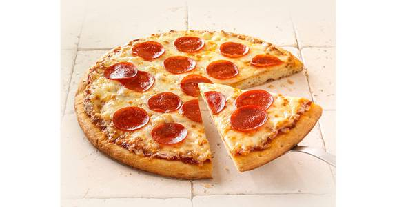 Regular Crust Pizza: Pepperoni from Kwik Star - Waterloo Broadway St in Waterloo, IA