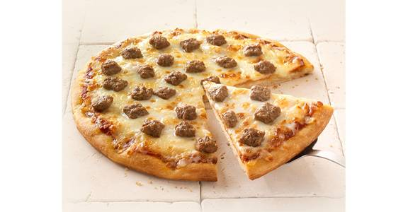 Regular Crust Pizza: Sausage from Kwik Star - Waterloo Broadway St in Waterloo, IA