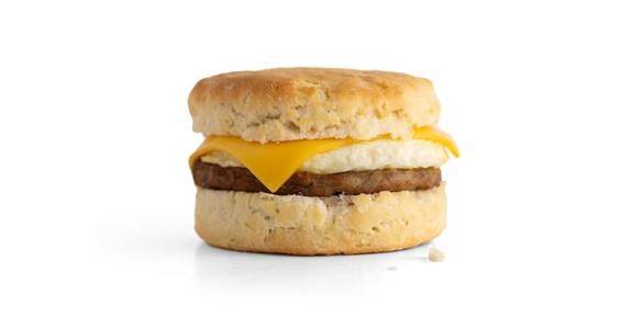 Sausage, Egg, & Cheese Biscuit from Kwik Star - Waterloo Broadway St in Waterloo, IA