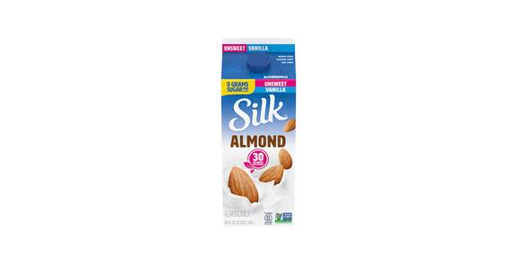 Silk Almond Milk Vanilla Unsweetened, 64 oz. from Kwik Trip - Wausau Stewart Ave in Wausau, WI