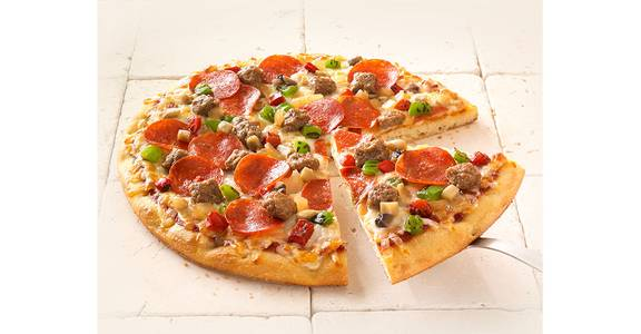 Specialty Pizza: Supreme from Kwik Star - Waterloo Broadway St in Waterloo, IA