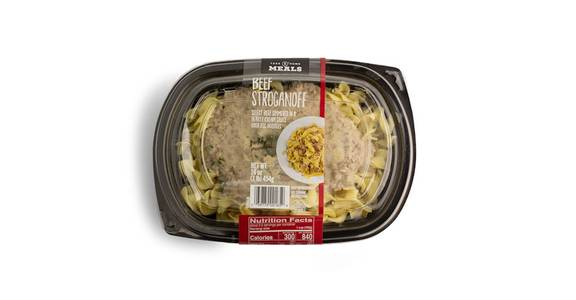 Take Home Meal: Beef Stroganoff from Kwik Star - Waterloo Broadway St in Waterloo, IA