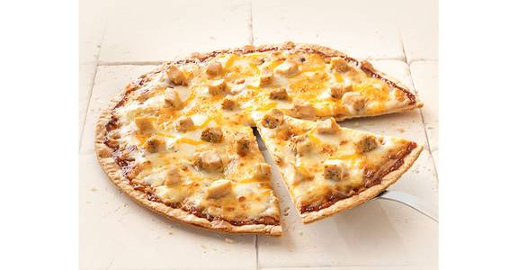 Thin Crust Pizza: BBQ Chicken from Kwik Star - Waterloo Broadway St in Waterloo, IA