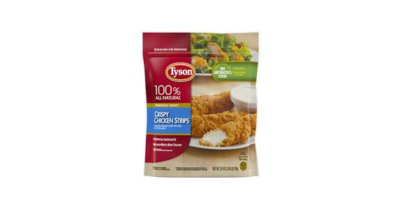 Tyson Crispy Chicken Strips, 25 oz. from Kwik Star - Dubuque JFK Rd in Dubuque, IA