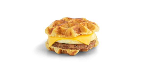 Waffle Breakfast Sandwich from Kwik Star - Waterloo Broadway St in Waterloo, IA
