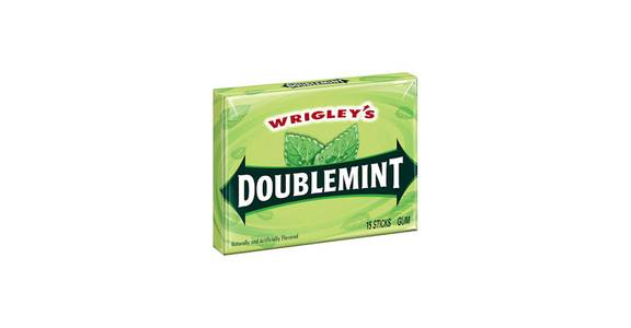 Wrigley's Doublemint, 15 Sticks from Kwik Star - Waterloo Broadway St in Waterloo, IA