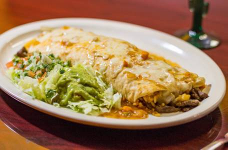 Burrito De Azada from Las Margaritas in La Crosse, WI