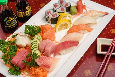 Sushi & Sashimi Combo from Ling's Bistro in Topeka, KS