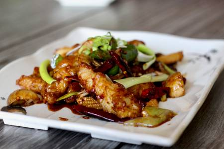 TL6. Hunan Crispy Spicy Fish from Little Asia in Richmond, VA