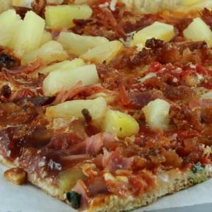 Hawaiian Pizza from Little Mazen Pizza in Simsbury, CT