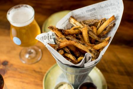 Frites from Longtable Beer Cafe in Middleton, WI