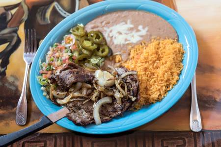 Carne Asada from Los Jaripeos in Oshkosh, WI