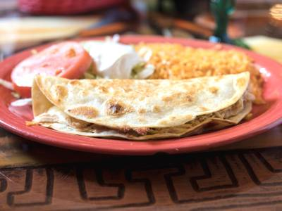 Quesadilla Rellena from Los Jaripeos in Oshkosh, WI