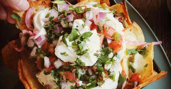 Steel Pan Nachos from Lucille in Madison, WI