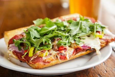 Hot Italian Sandwich from Luigi's in Madison, WI