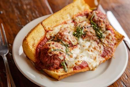 Meatball Sandwich from Luigi's in Madison, WI