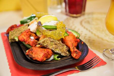 5. Tandoori Mixed Grill from Maharana Restaurant in Madison, WI