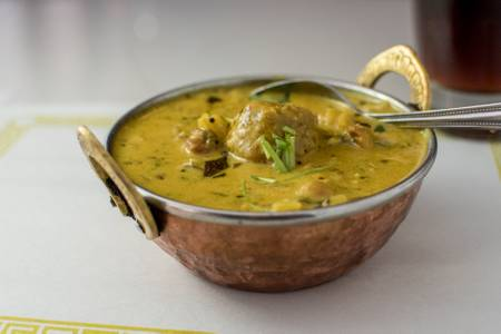 Kadhi Pakora from Maharani Restaurant in Madison, WI