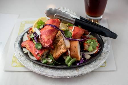 Tandoori Chicken from Maharani Restaurant in Madison, WI