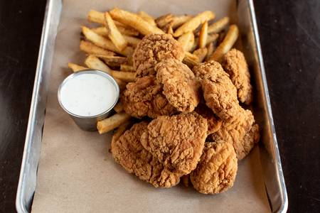 1/2 Pound Boneless Wings Combo Meal from Midcoast Wings - Fitchburg in Fitchburg, WI