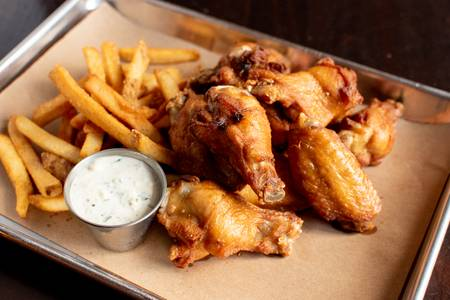 Traditional Bone-In Wings Combo Meal from Midcoast Wings - Fitchburg in Fitchburg, WI
