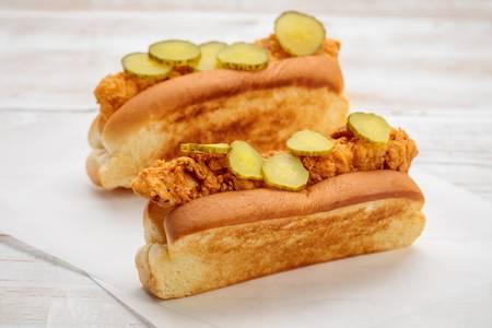 Mission Crisp Chicken Rolls from Mission Crisp in Pasadena, CA