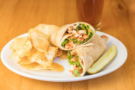 Buffalo Chicken Wrap from Mogie's Pub & Restaurant in Eau Claire, WI