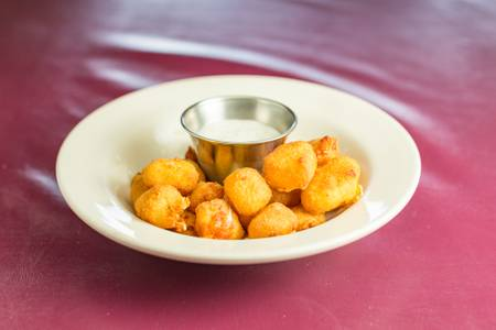 Cheese Curds Bites from Mom's Kitchen in Eau Clarie, WI