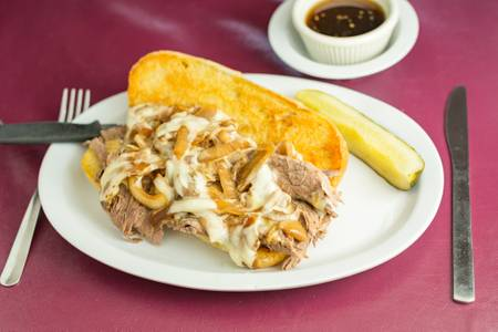 French Dip from Mom's Kitchen in Eau Clarie, WI