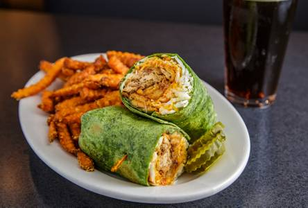 BBQ Chicken Wrap from Monk's Bar & Grill - Sun Prairie in Sun Prairie, WI