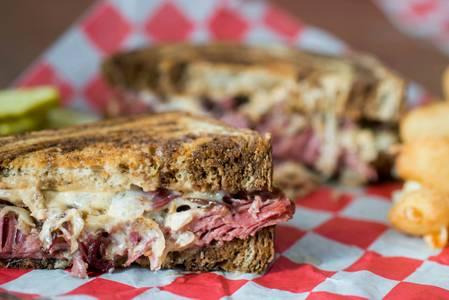 Monk's Classic Reuben Sandwich from Monk's Bar & Grill - Sun Prairie in Sun Prairie, WI