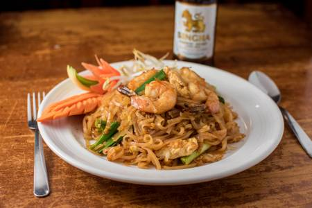 Pad Thai from Monsoon Siam in Charlottesville, VA