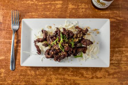 Sun-Dried Beef from Monsoon Siam in Charlottesville, VA