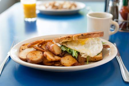 Monty's Breakfast Sandwich from Monty's Blue Plate Diner in Madison, WI