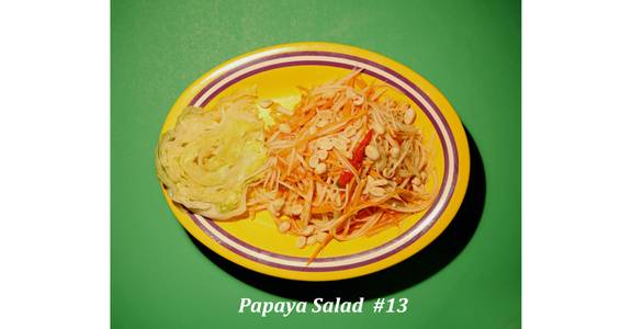 13. Papaya Salad from Narin's Thai Kitchen in Green Bay, WI